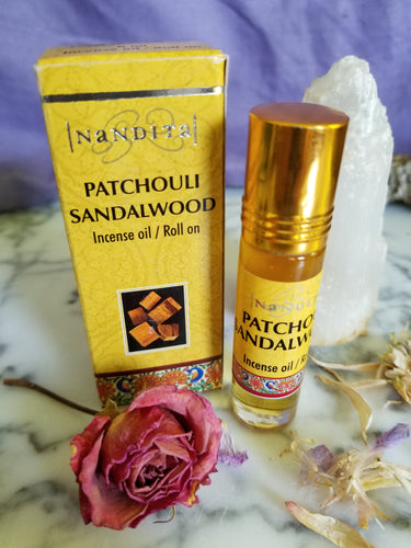 Patchouli Sandlewood Perfume Oil 8ml