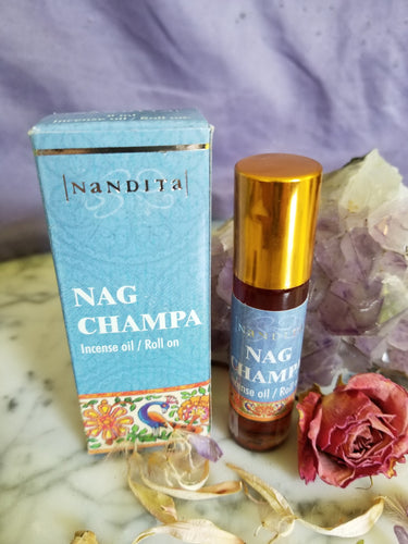Nag Champa Perfume Oil 8ml