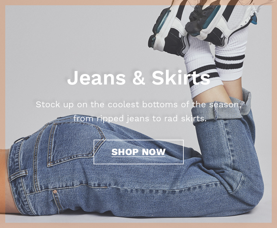 JEANS & SKIRTS