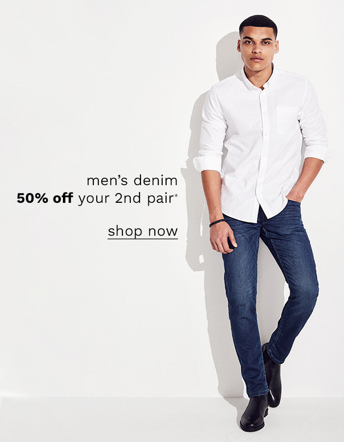 men denim