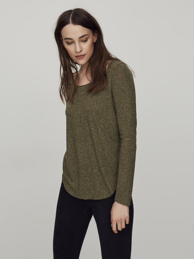 Long Sleeve T-Shirt Ivy Green