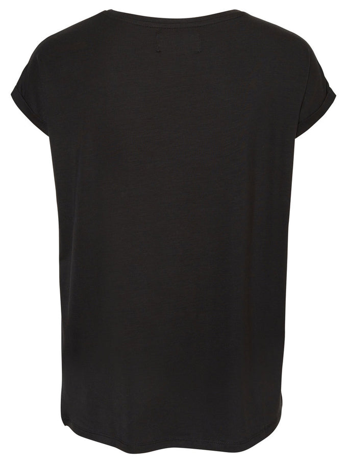LIGHT LYOCELL T-SHIRT Black