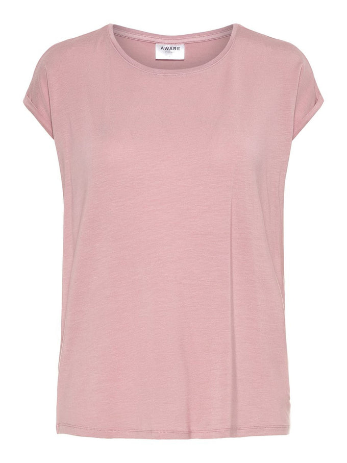 LIGHT LYOCELL T-SHIRT Foxglove