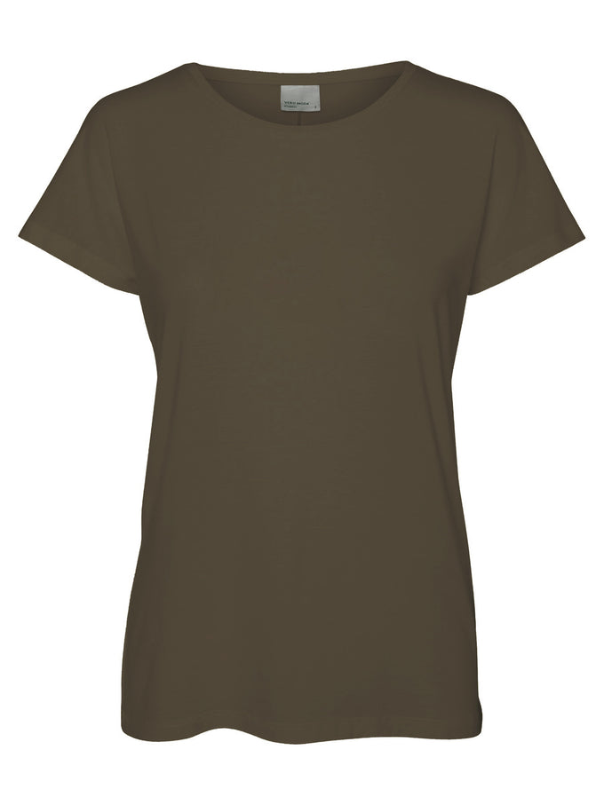 VMJOY COTTON T-SHIRT Ivy Green