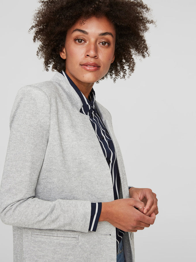 LIGHT JACKET Light Grey Melange