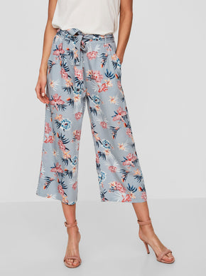 TROPICAL PRINT CULOTTES
