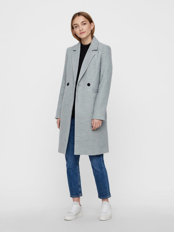 CLASSIC CITY JACKET Light Grey Melange