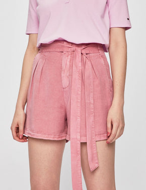 COLOURFUL LYOCELL SHORTS