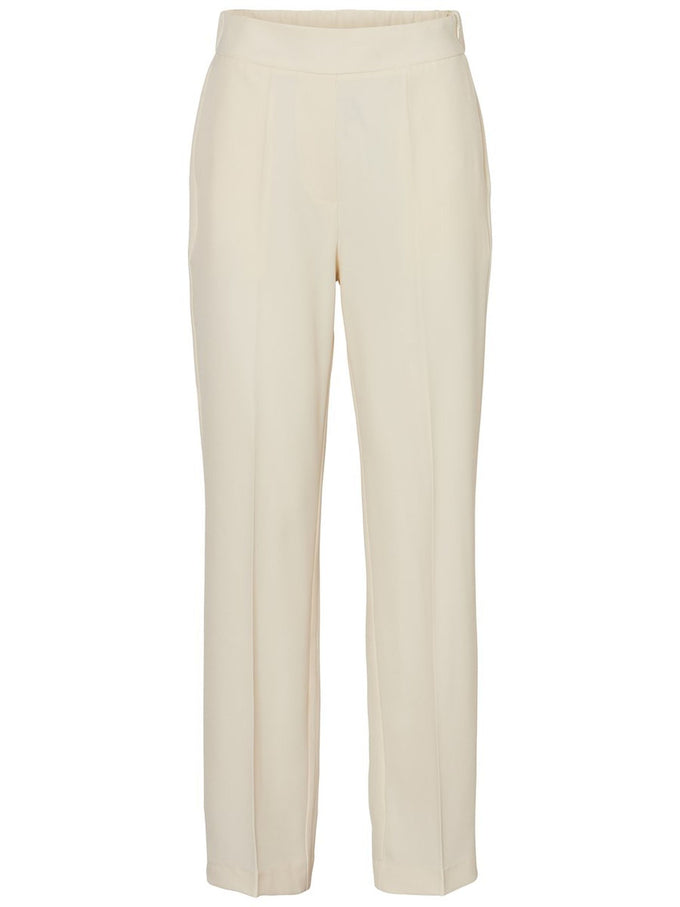 POLYESTER-RECYCLED STRAIGHT FIT PANTS Pristine