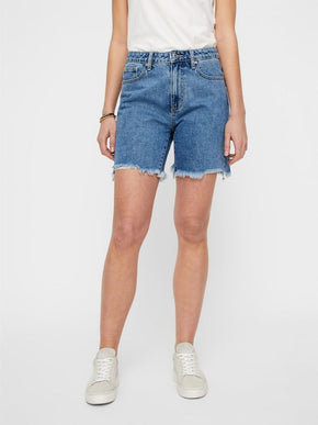VMJOANA LONG MOM FIT SHORTS