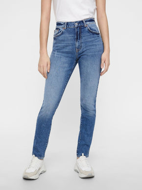 VMSELENA HIGH WAIST TAPERED JEANS