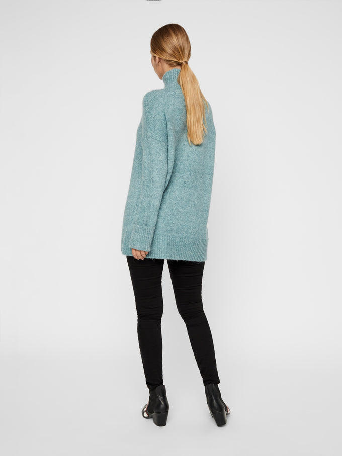 High Neck Long Sweater North Atlantic