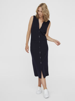 FADIA SLEEVELESS SHIRT DRESS