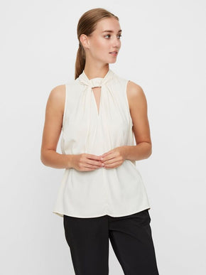 SLEEVELESS GLAZE TOP