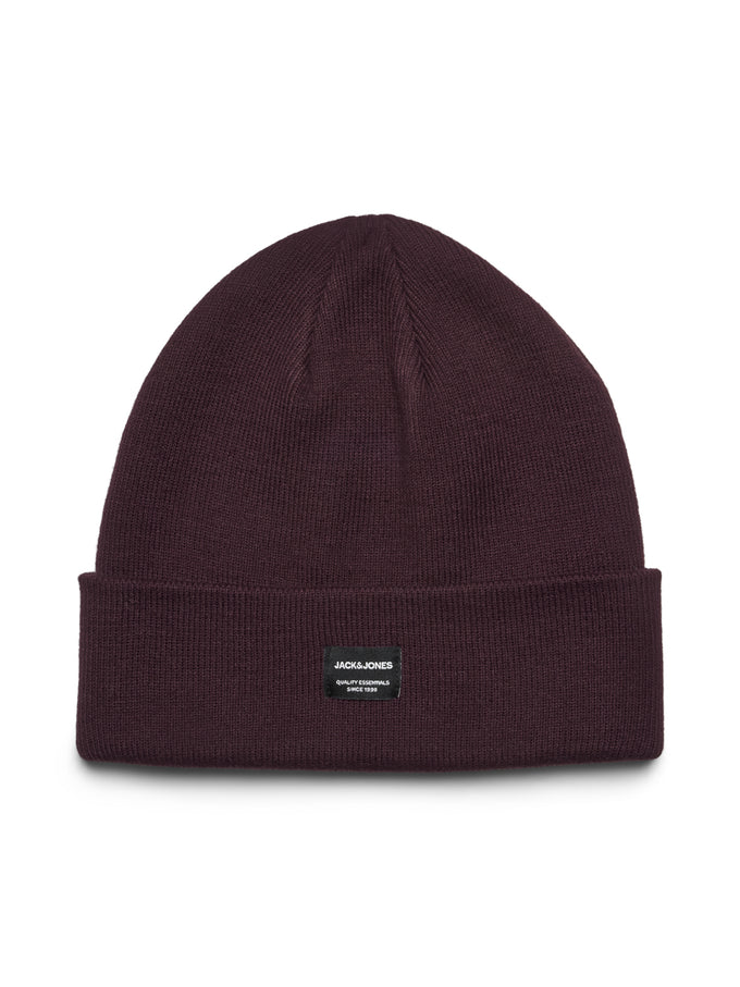 ROLL UP BEANIE WITH EMBROIDERED LOGO Port Royale