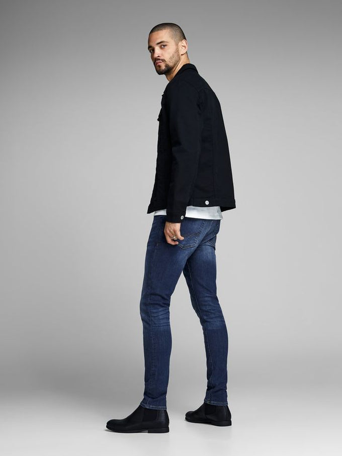 SKINNY FIT SUPER STRETCH LIAM 014 JEANS Blue Denim