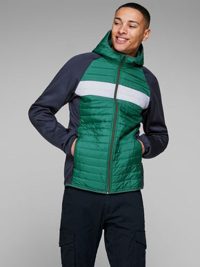 WINDPROOF QUILTED JACKET