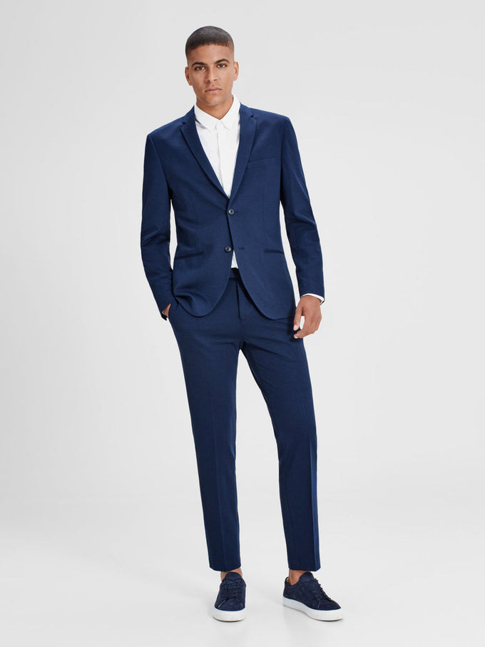 MINIMALIST STRETCH BLAZER Dark Navy