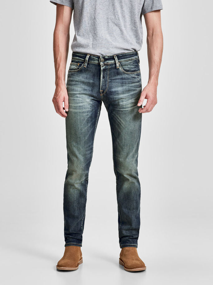 MIKE 785 COMFORT FIT JEANS WITH WORN-IN LOOK