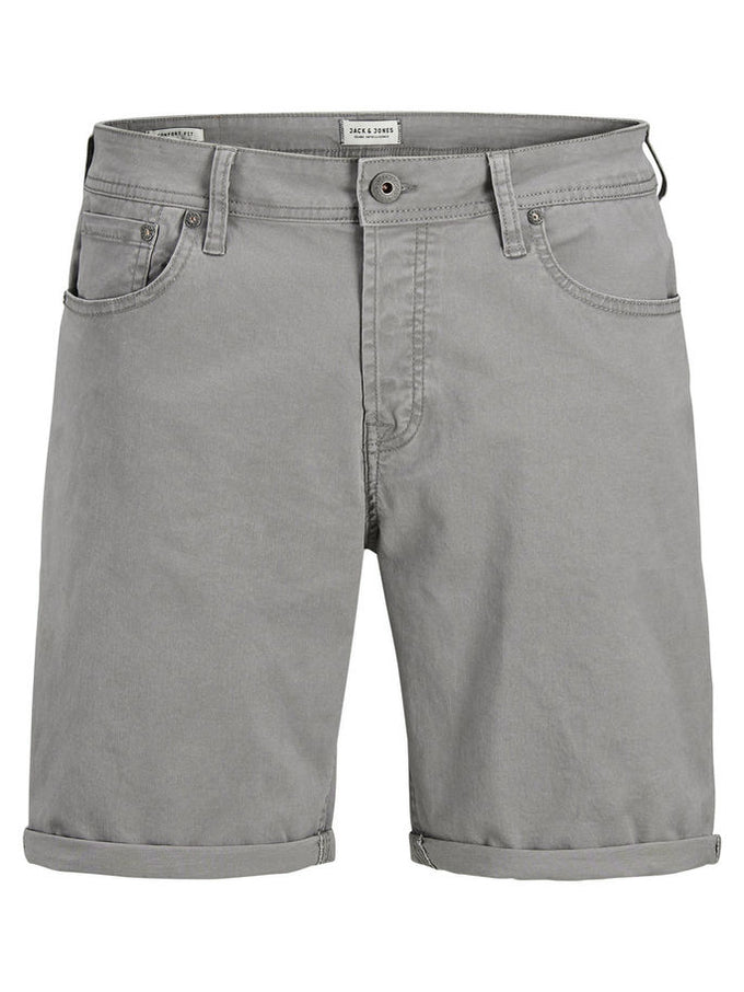CLASSIC DENIM COMFORT FIT SHORTS Steel Gray