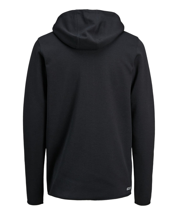 TRUEXCORE TECH DRY ZIP-UP HOODIE Black