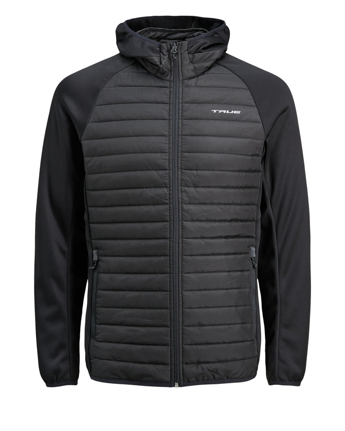 TRUEXCORE WINDPROOF QUILTED JACKET Black