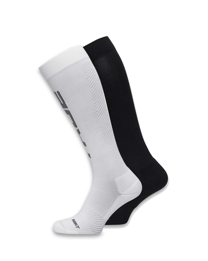 2-PACK TRUEXCORE COMPRESSION SOCKS Black