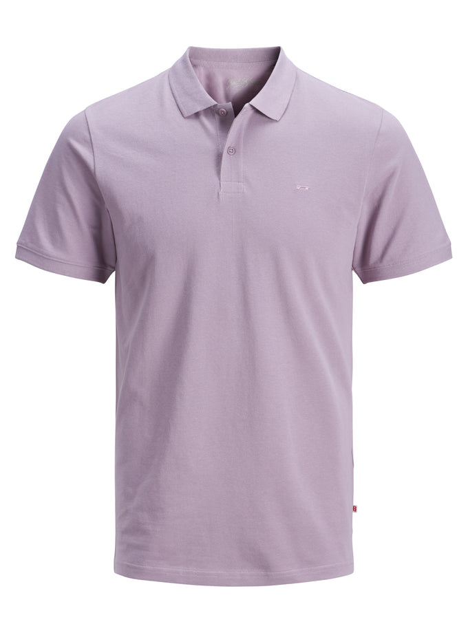 SLIM FIT BASIC POLO Toadstool