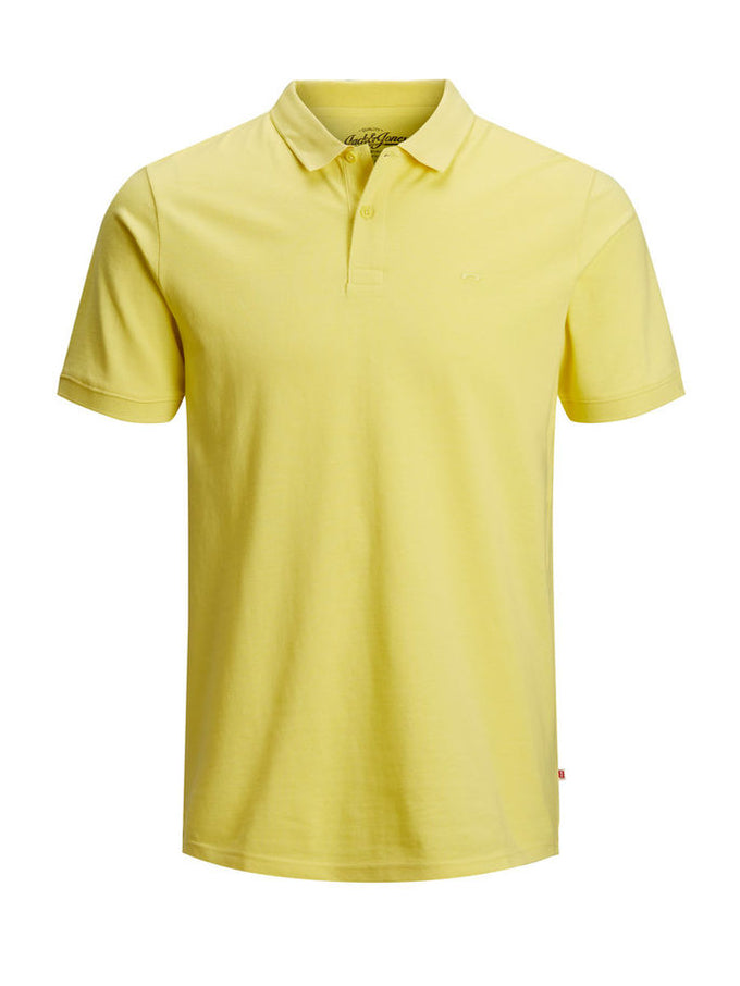 SLIM FIT BASIC POLO Celandine