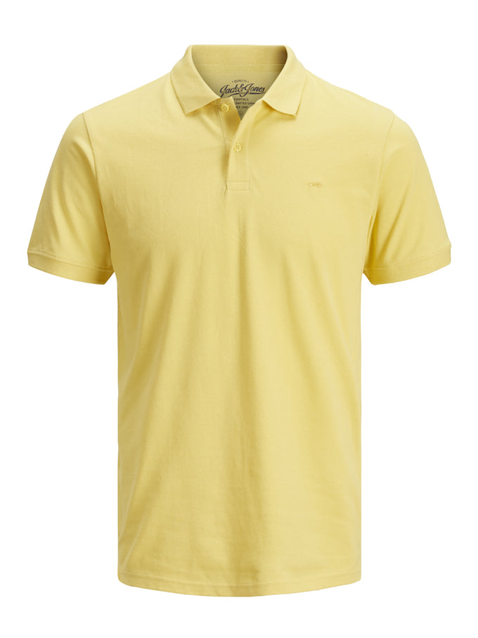 SLIM FIT BASIC POLO Goldfinch