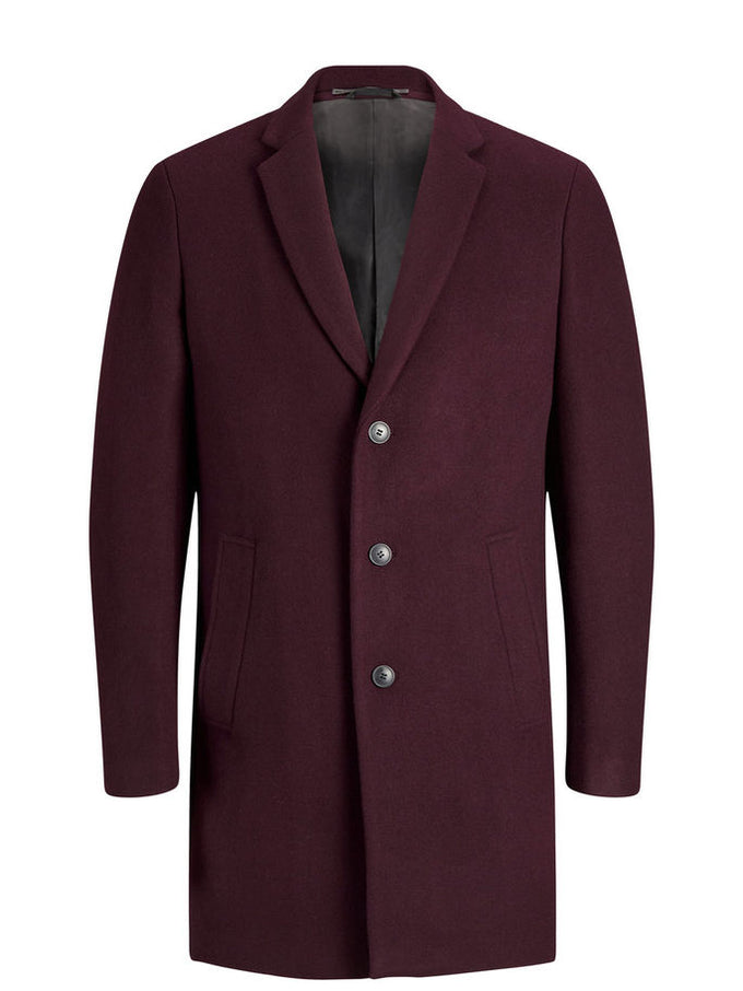 WOOL DRESS COAT Winetasting