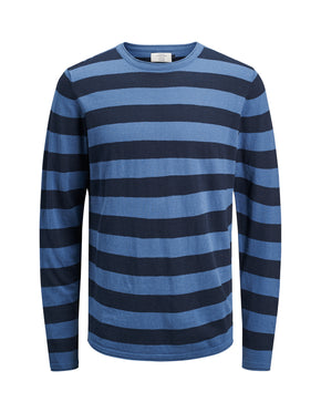 LIGHT ORIGINALS STRIPED SWEATER