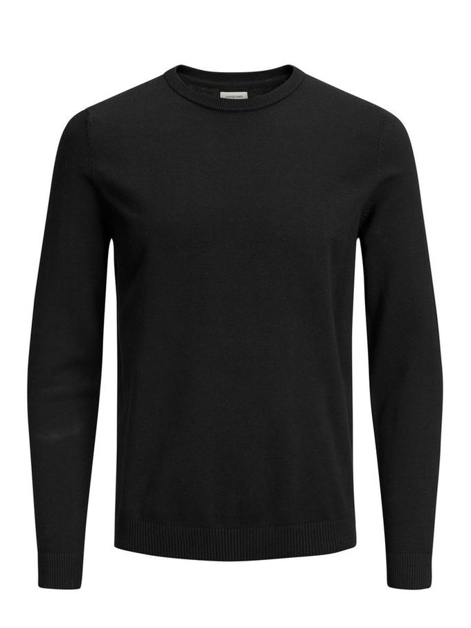 LIGHTWEIGHT ESSENTIAL SWEATER Black