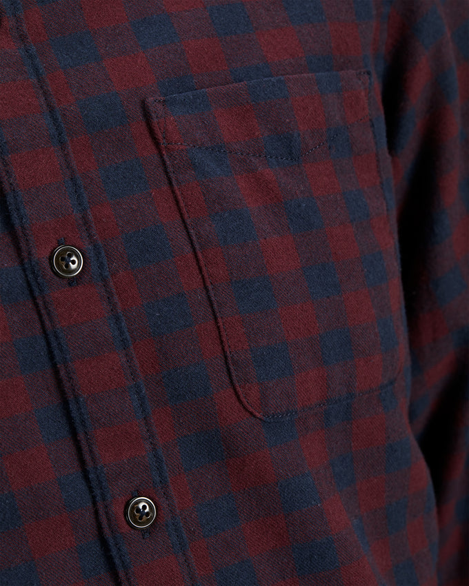 FLANNEL STYLE GINGHAM SHIRT Port Royale