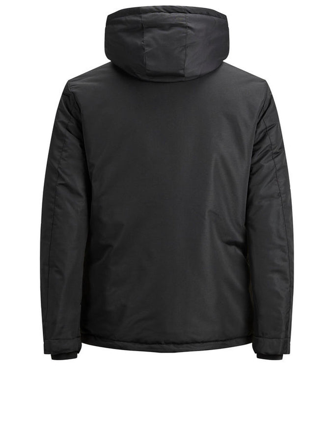 PADDED WATER-REPELLENT CORE JACKET Black