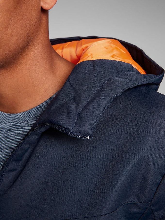 PADDED WATER-REPELLENT CORE JACKET Sky Captain