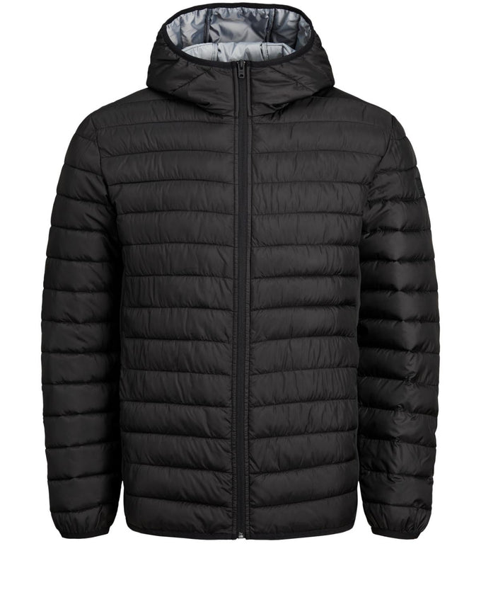 WINDPROOF PUFFER JACKET Black