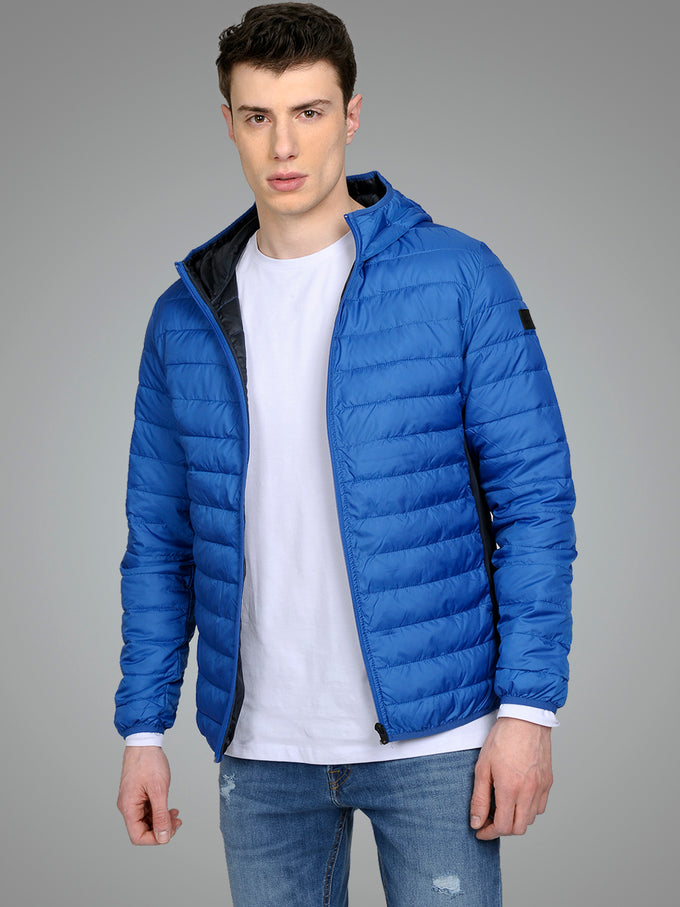 WINDPROOF PUFFER JACKET Nautical Blue