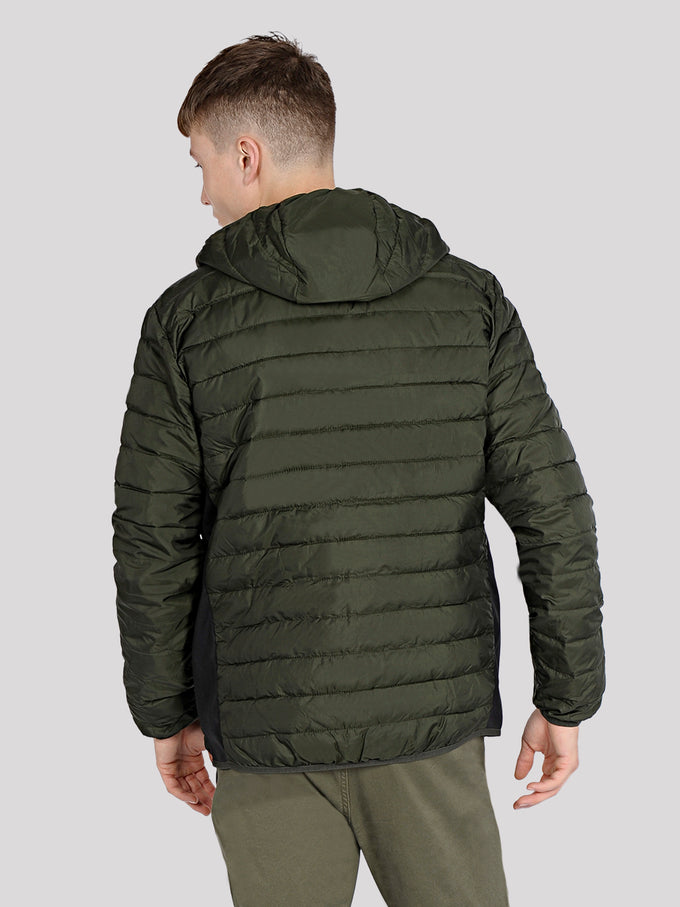 WINDPROOF PUFFER JACKET Rosin