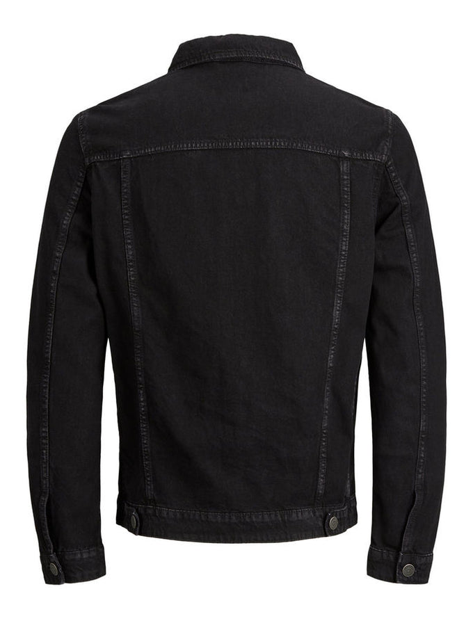 OVERDYED BLACK DENIM JACKET Black Denim