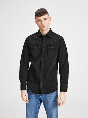 ESSENTIAL BLUE DENIM SHIRT