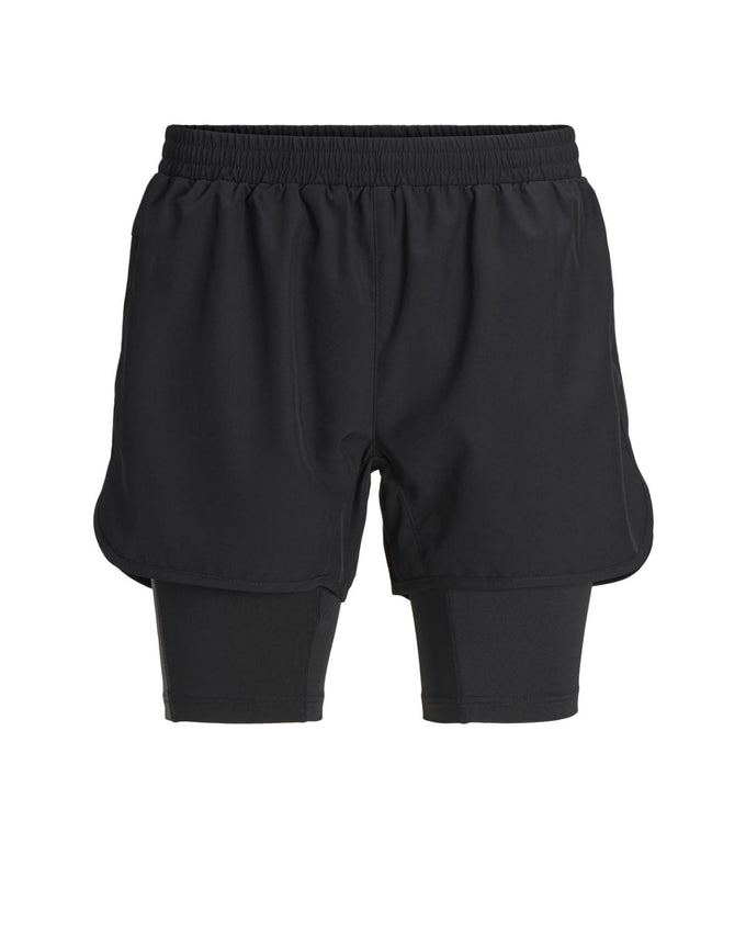 2-IN-1 TRUEXCORE TRAINING SHORTS Black