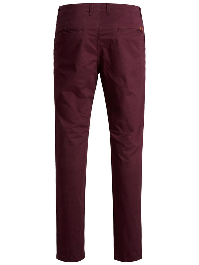 CLASSIC BURGUNDY CHINO PANTS Winetasting