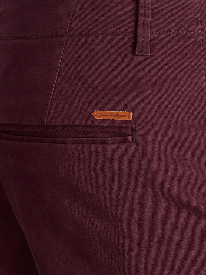 BURGUNDY MARCO FIT CHINO PANTS Winetasting