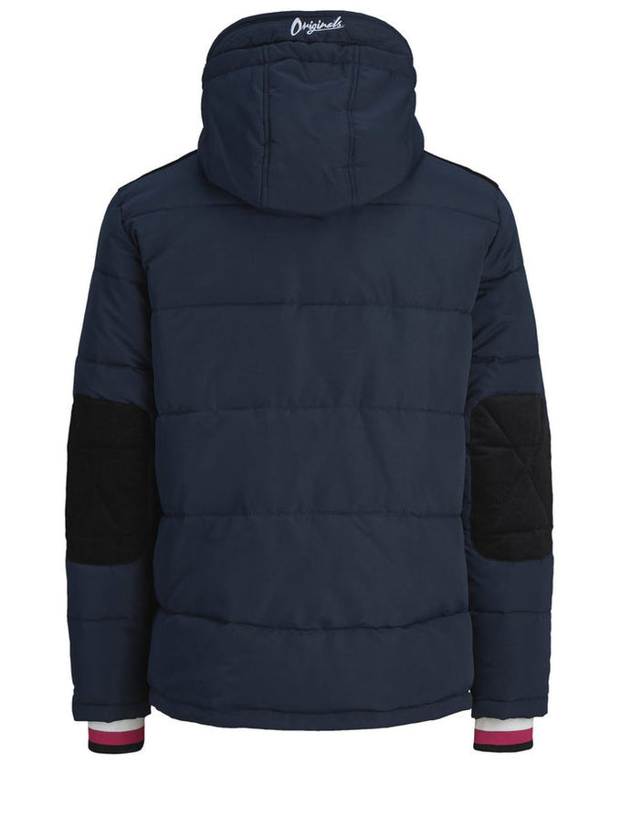 DETAILED PUFFER JACKET Total Eclipse