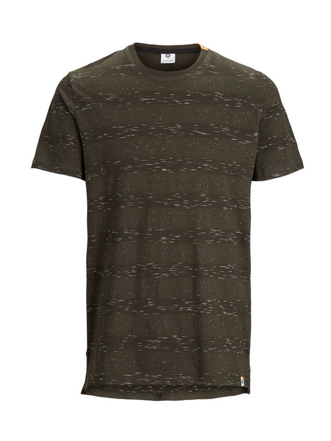 HIGH-LOW T-SHIRT WITH PATTERNS Rosin