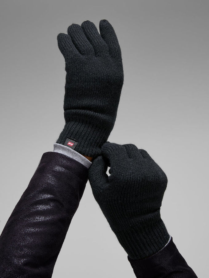 TOUCH SCREEN FRIENDLY GLOVES Black
