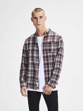 CHECKERED SLIM FIT PREMIUM SHIRT