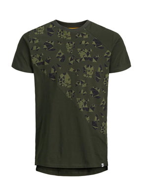 HIGH-LOW SKULL T-SHIRT