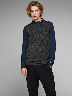 HALF-ZIP PERFORMANCE SWEATER